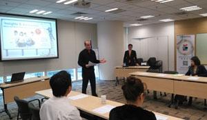 12月10号研讨会参加了中国美国商会(AmCham China)有关的美国企业人士